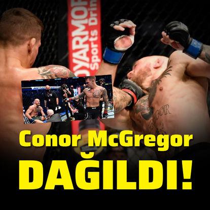 McGregor dağıldı!