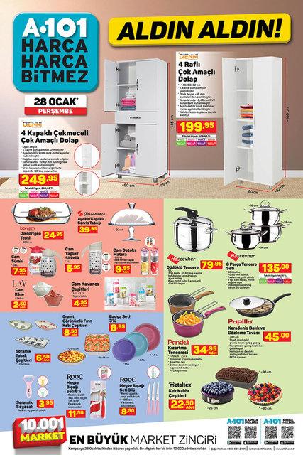 A101 BİM aktüel ürünler kataloğu! 26-28 Ocak A101 BİM aktüel ürünler kataloğu! İşte tam liste yayında