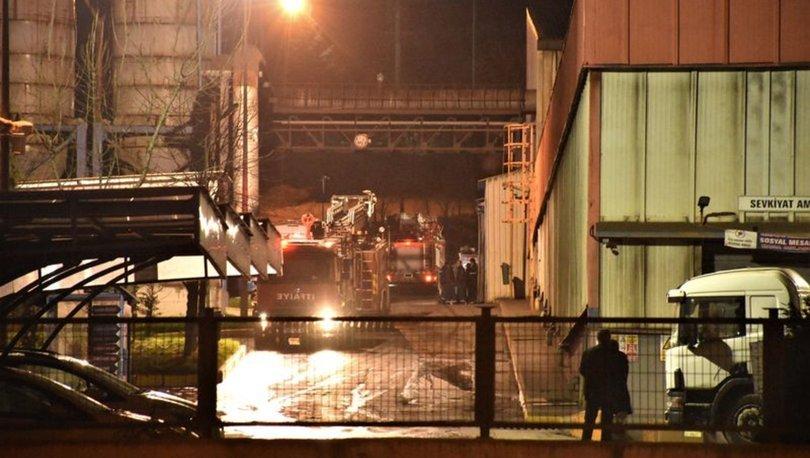 Bilecik'te demir döküm fabrikasında yangın