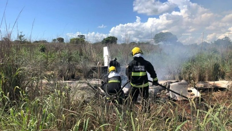 Brezilya'da uçak kazası: Başkan ve 4 futbolcu öldü