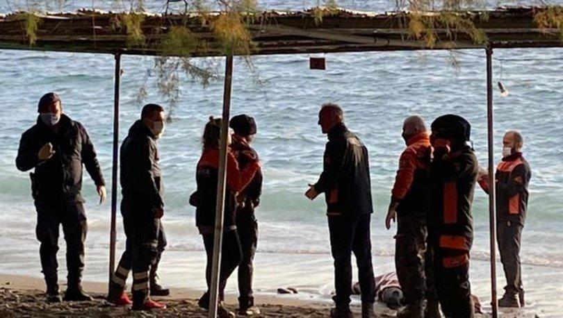 Datça'da sahilde cansız beden bulundu
