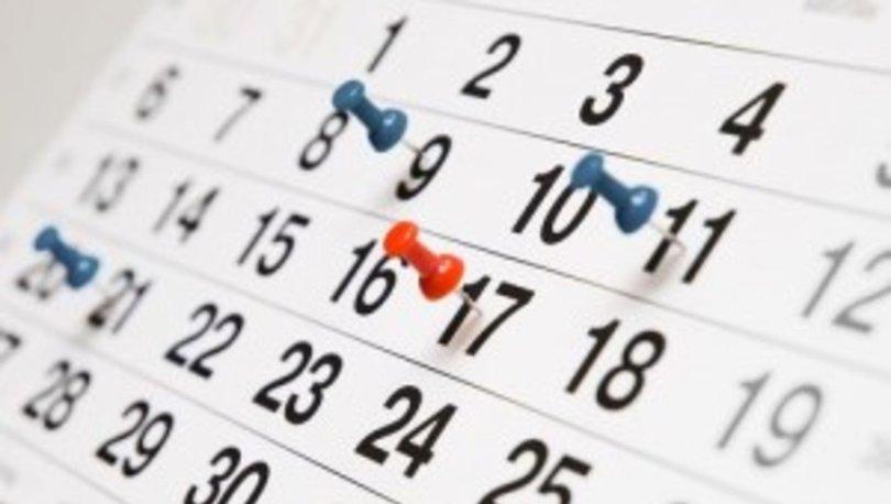 2021 yılı resmi tatilleri: Dini bayramlar ve resmi tatiller hangi güne denk geliyor?