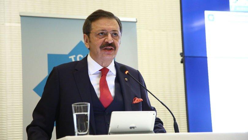 TOBB Başkanı Hisarcıklıoğlu'ndan 'lokanta' açıklaması