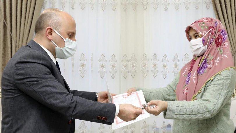 Ağrı'daki facianın ardından anneye ev alındı - Haberler