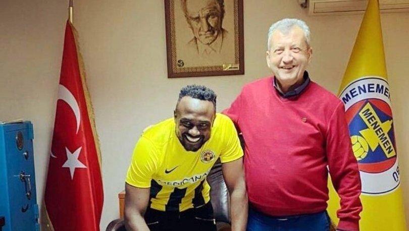 Menemenspor, Simon Zenke ve Okan Yılmaz'ı transfer etti