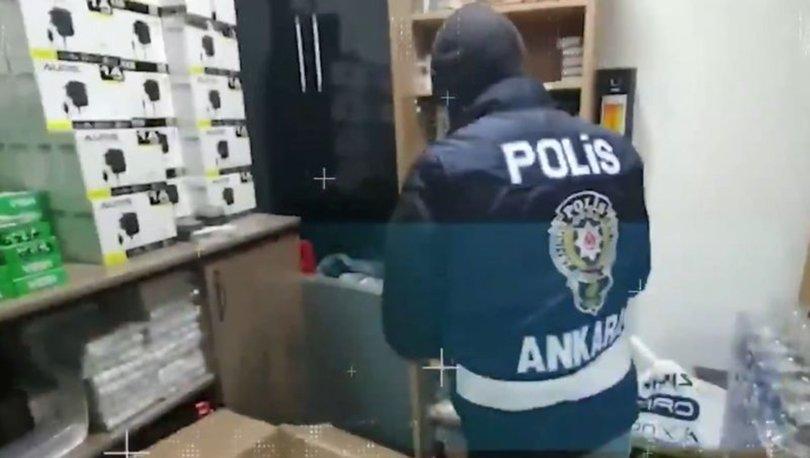 Ankara'da bir haftada 51 kaçakçı gözaltına alındı