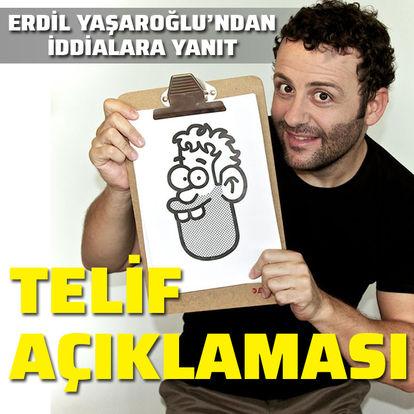 Erdil Yaşaroğlu'ndan telif açıklaması