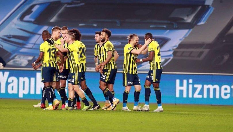 Fenerbahçe, ilk yarıyı pas rekoru ve 42 puanla bitirdi