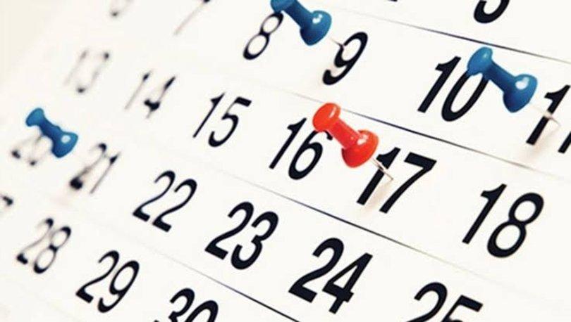 2021 Resmi tatil günleri: Resmi tatiller bu yıl hangi güne denk geliyor? İşte 2021 takvimi