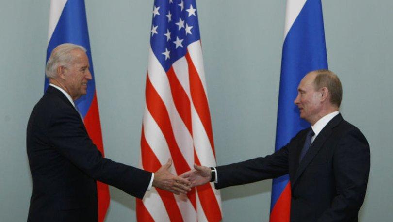 ABD Başkanı Biden Rus lider Putin'i aradı