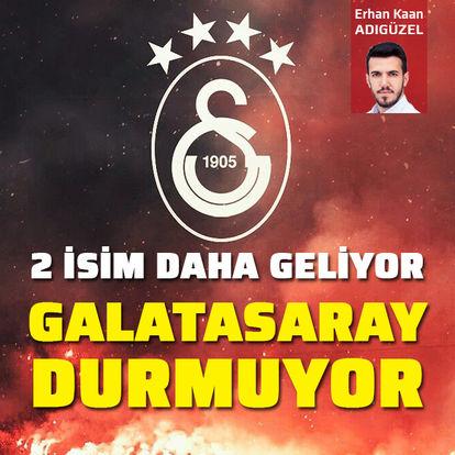 Galatasaray durmuyor!