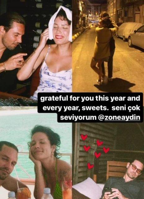Halsey hamile! Son dakika: Türk sevgilisi Alev Aydın'dan hamile!