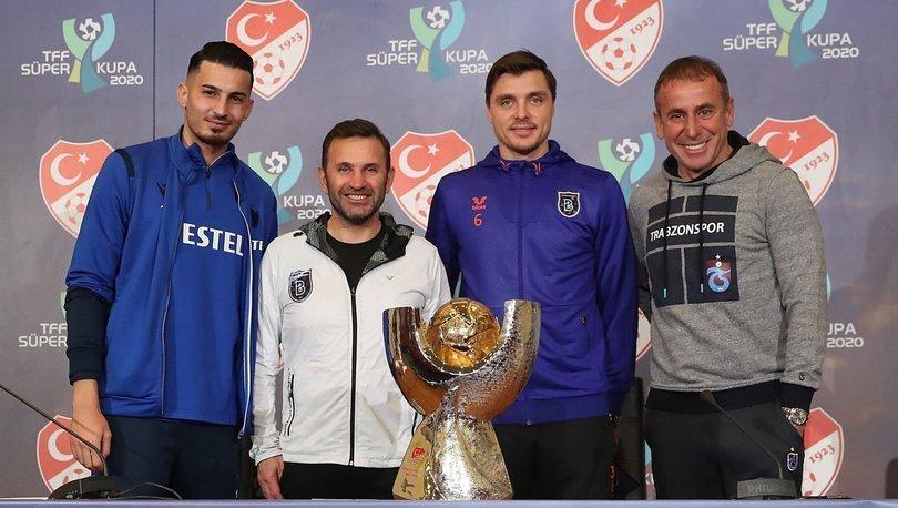 SÜPER FİNAL! Başakşehir Trabzonspor maçı ne zaman, saat kaçta, hangi kanalda? Süper Kupa finali ne zaman?