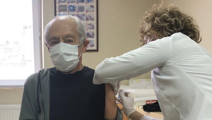 Genco Erkal koronavirüs aşısı oldu - Magazin haberleri