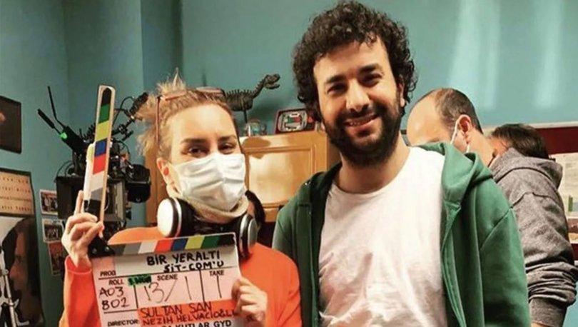 Hasan Can Kaya, yeni dizi çekiyor! Hasan Can Kaya'nın sevgilisi Sultan San yönetiyor