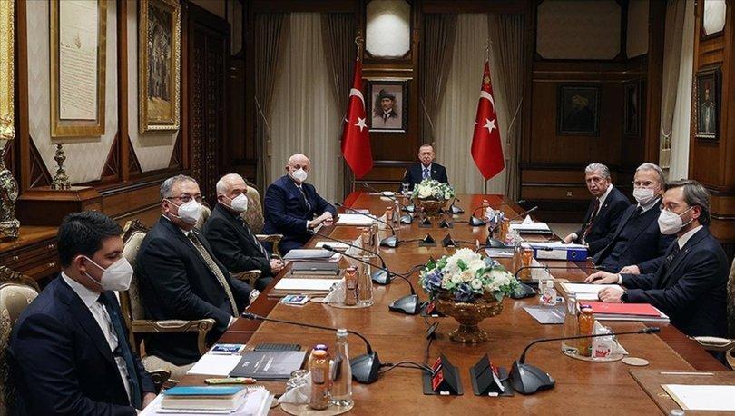 Yüksek İstişare Kurulu (YİK) Cumhurbaşkanı Erdoğan'ın başkanlığında Beştepe'de toplandı