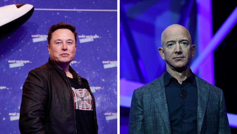 Elon Musk - Jeff Bezos: Dünyanın en zengin iki insanının uzayda 'yörünge savaşı'