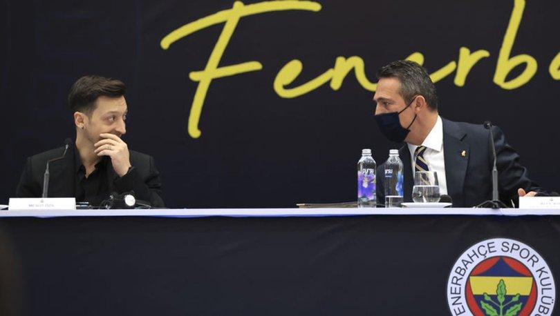 İMZALADI| Son dakika: Mesut Özil resmen Fenerbahçe'de!