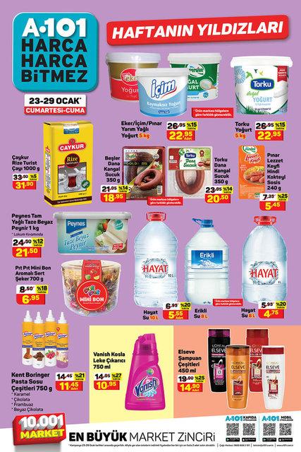 A101 29 Ocak 2021 aktüel ürünler kataloğu! A101'de haftanın indirimli ürünler listesi