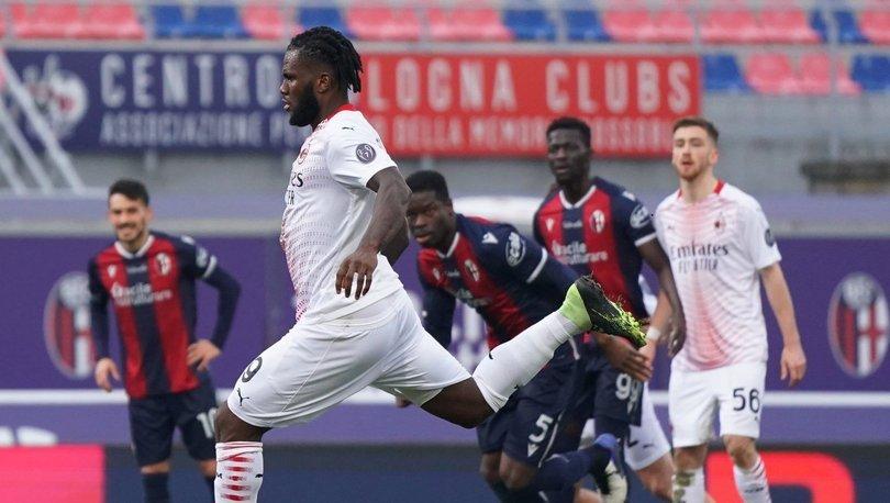Lider Milan, Serie A'nın ikinci devresine galibiyetle başladı