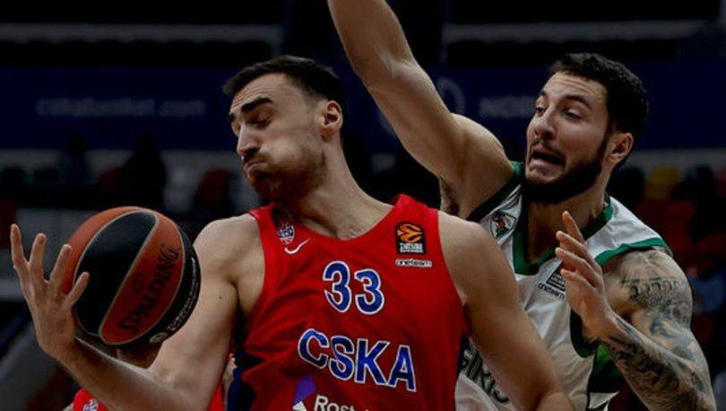 CSKA Moskova'da Milutinov sezonu kapattı, James takıma döndü
