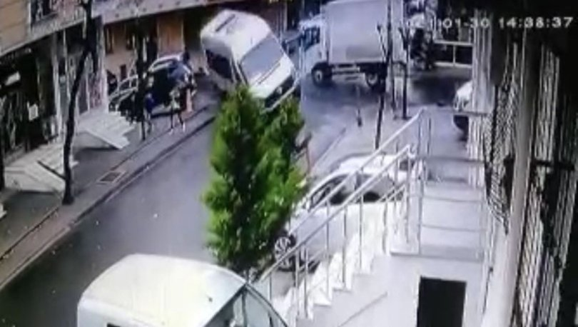 SON DAKİKA Ölümden saniyelerle kurtuluş kamerada! - Haberler
