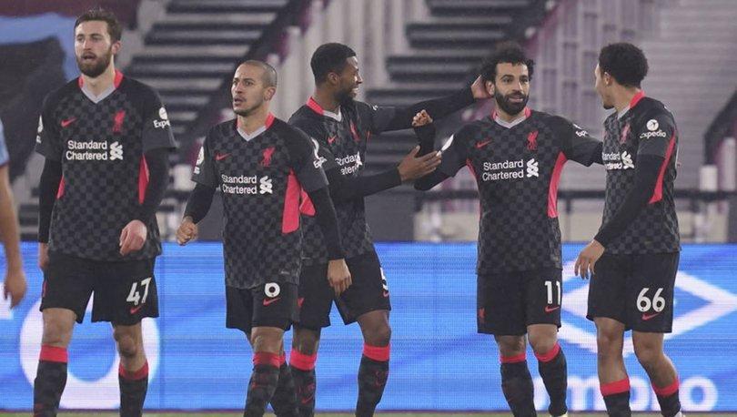 Premier Lig'de Liverpool, 3 puanı 3 golle aldı