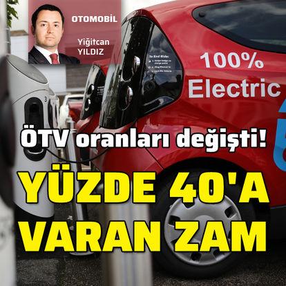 Son dakika ÖTV zammı! Elektrikli otomobil fiyatları ne olacak?