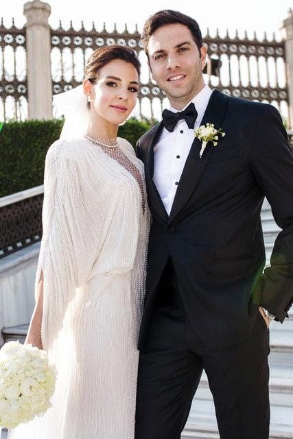 Aslışah Alkoçlar ile Kaan Demirağ evlendi! Nikahtan fotoğraflar