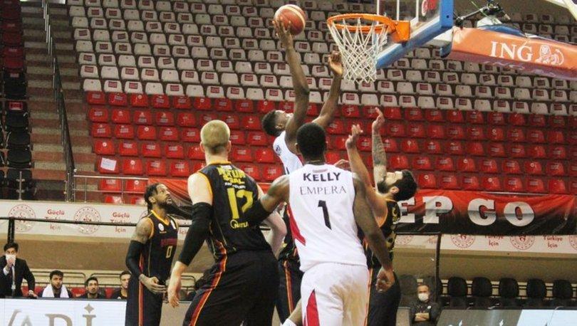 Empera Halı Gaziantep Basketbol: 68 - Galatasaray: 61 | MAÇ SONUCU
