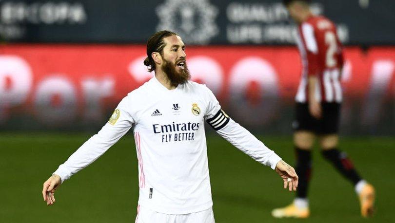 Real Madrid'in stoperi Sergio Ramos, dizinden ameliyat edildi