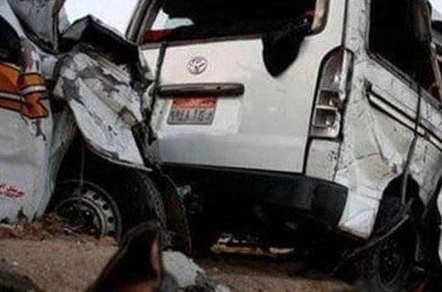Mısır'da korkunç kaza: 11 ölü