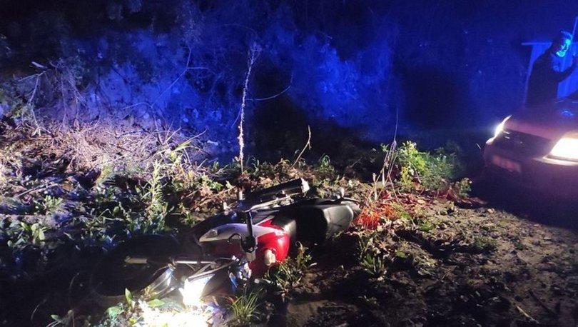 Kuşadası'nda bekçiler çalıntı motosikleti 30 kilometre kovaladı: 1 gözaltı