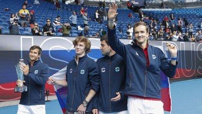 ATP Cup'ta şampiyon Rusya