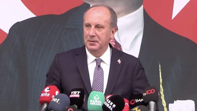 SON DAKİKA! Muharrem İnce CHP'den istifa etti! - Haberler