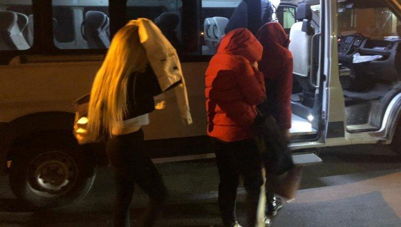 PEMBE MASKE OPERASYONU! Kadınları fuhşa zorlayan çeteye operasyon! Haberler