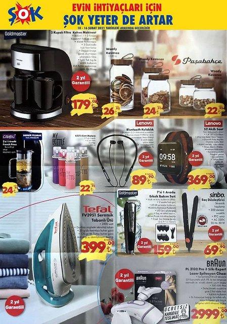 ŞOK 10 Şubat Aktüel Ürünler Kataloğu: ŞOK markette bu hafta indirimli ürünler listesinde neler var?