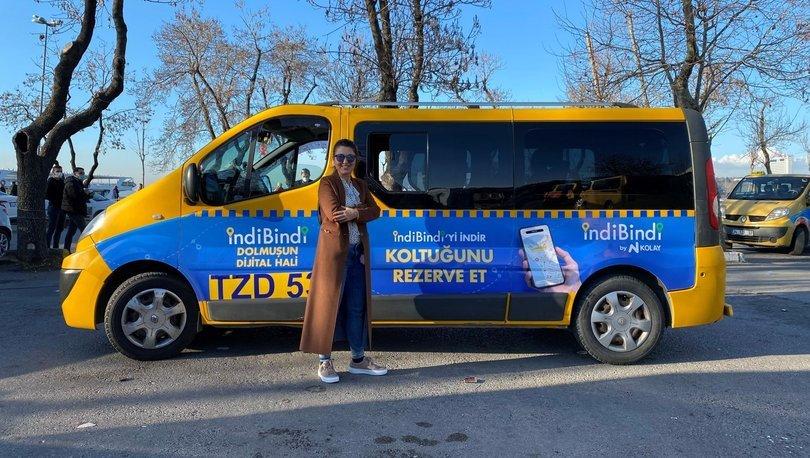 İstanbul'daki sarı dolmuşlar için indiBindi uygulaması geliştirildi - Haberler