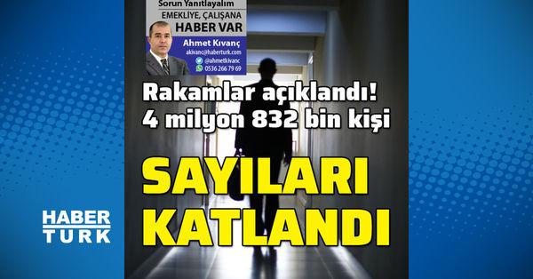 Sayıları 4 milyon 832 bin kişi