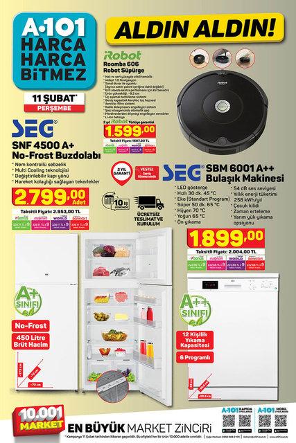 A101 11 Şubat 2021 Aktüel Ürünler Kataloğu: Bu hafta A101 indirimli ürünler listesinde neler var?