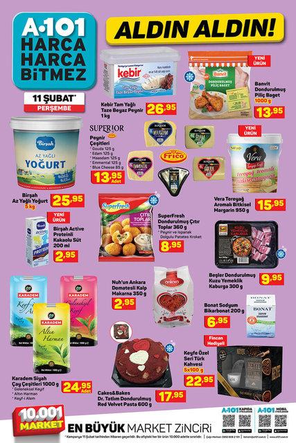 11 Şubat A101 Aktüel ürünler kataloğu! A101'de bu hafta indirimli neler var? İşte listesi