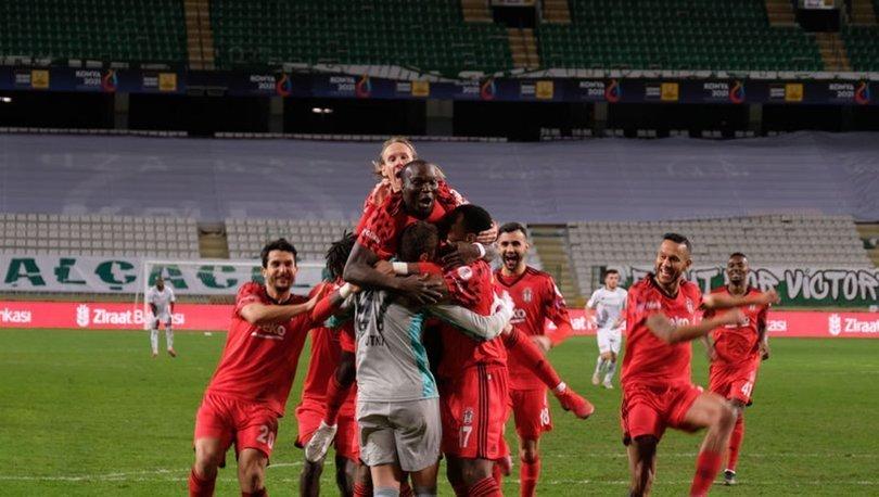 Konyaspor: 2 - Beşiktaş: 3 | MAÇ SONUCU