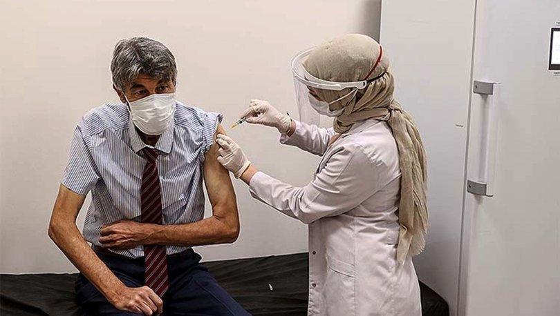 65 yaş ve üzeri vatandaşların Covid-19 aşılarının yapılmasına başlandı - Haberler