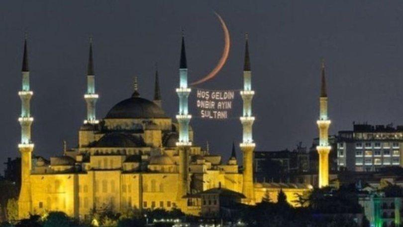 Ramazan ne zaman? İlk oruç ne zaman tutulacak? 2021 Diyanet Takvimi