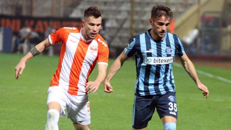 Adanaspor: 2 - Adana Demirspor: 2 MAÇ SONUCU