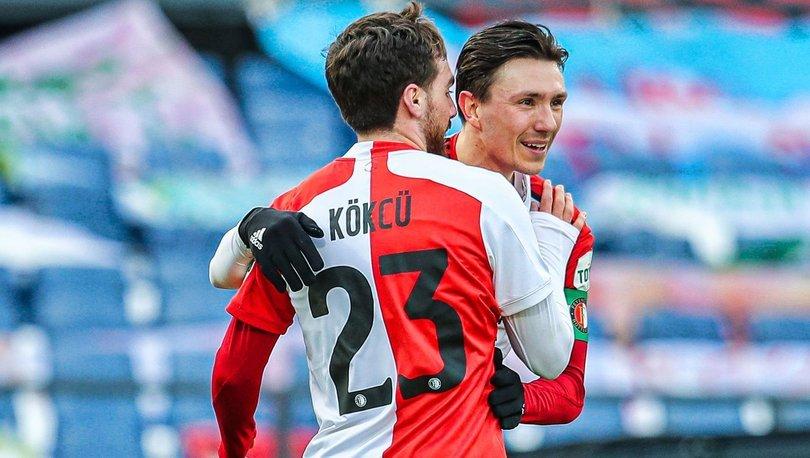 Feyenoord: 5 - Willem II: 0 MAÇ SONUCU