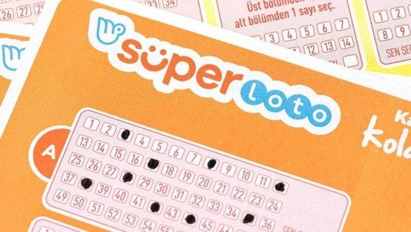 14 Şubat Süper Loto sonucu: Süper Loto çekiliş sonuçları açıklandı!