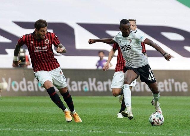 Beşiktaş'ın Gençlerbirliği maçı muhtemel 11'i