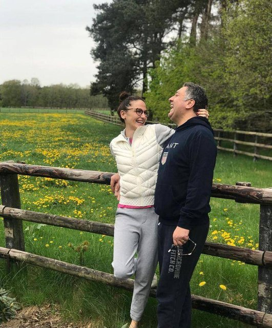 Sinem Uslu'dan eşi Mustafa Uslu'ya: Her günümüze şükürler olsun - Magazin haberleri