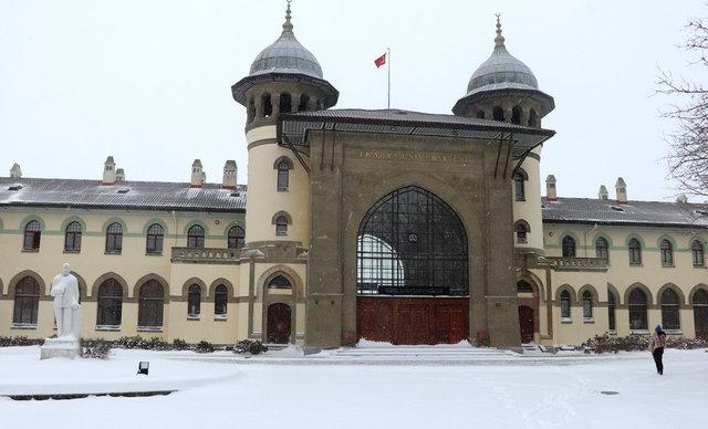Edirne'de, kartpostallık manzaralar oluştu